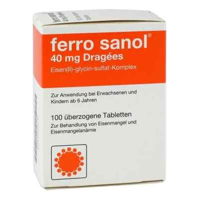 Ferro sanol 40mg Dragees  bei juvalis.de bestellen