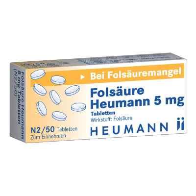 Folsäure Heumann 5 mg Tabletten  bei juvalis.de bestellen
