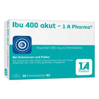 Ibu 400 akut-1A Pharma  bei juvalis.de bestellen