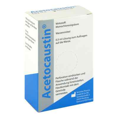 Acetocaustin Lösung  bei juvalis.de bestellen