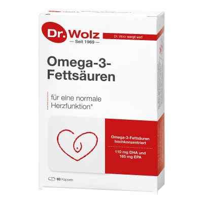 Omega 3 Fettsäuren 500 mg/60% Kapseln  bei juvalis.de bestellen