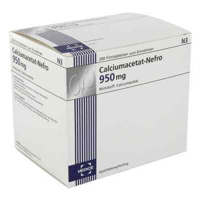 Calciumacetat Nefro 950 mg Filmtabletten  bei juvalis.de bestellen
