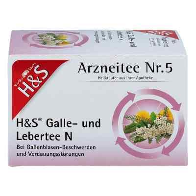 H&s Galle- und Lebertee N Filterbeutel  bei juvalis.de bestellen