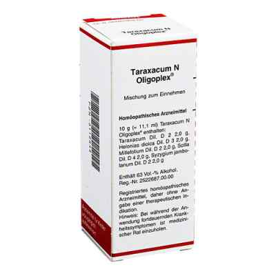 Taraxacum N Oligoplex Liquidum  bei juvalis.de bestellen