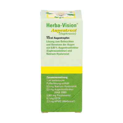 Herba-vision Augentrost Augentropfen  bei juvalis.de bestellen
