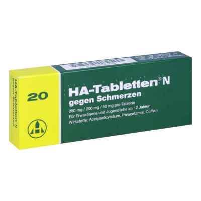 HA-Tabletten N gegen Schmerzen  bei juvalis.de bestellen