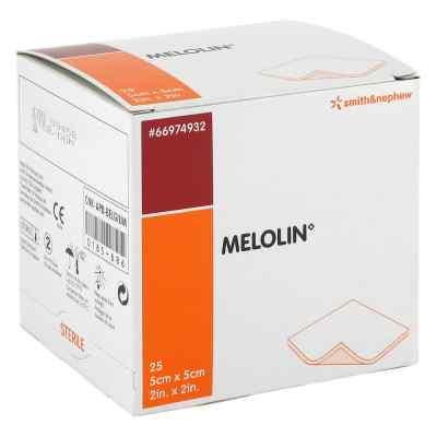 Melolin 5x5cm Wundauflagen steril  bei juvalis.de bestellen