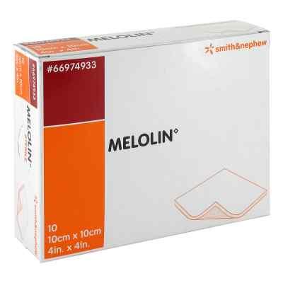 Melolin 10x10cm Wundauflagen steril  bei juvalis.de bestellen