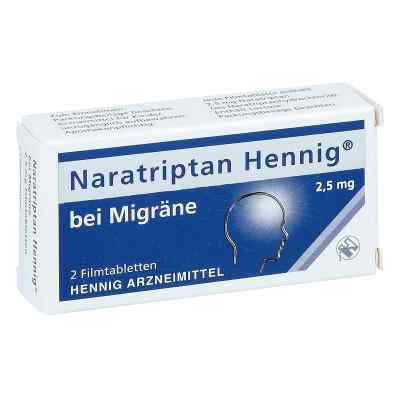 Naratriptan Hennig bei Migräne 2,5mg  bei juvalis.de bestellen