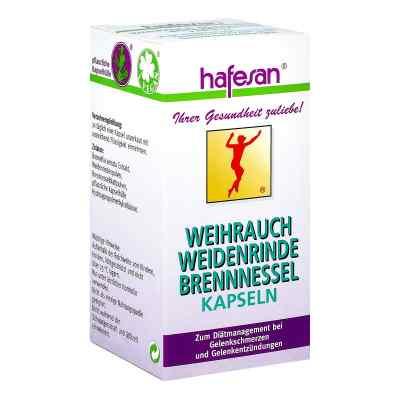 Hafesan Weihrauch+weidenrinde+brennessel Kapseln  bei juvalis.de bestellen