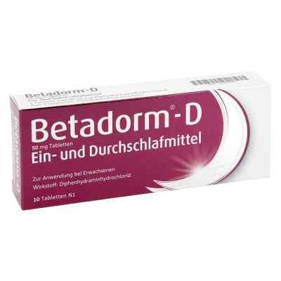Betadorm-D  bei juvalis.de bestellen