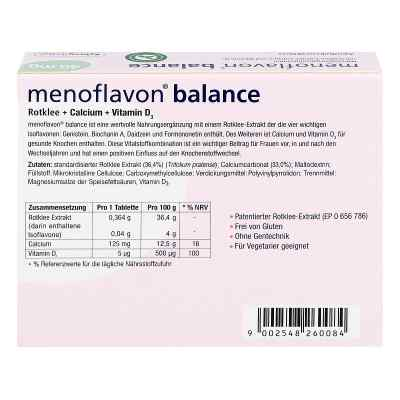 Menoflavon Balance Tabletten  bei juvalis.de bestellen