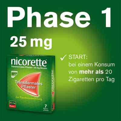nicorette Pflaster mit 25 mg Nikotin  bei juvalis.de bestellen