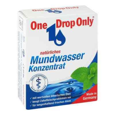 One Drop Only natürl.Mundwasser Konzentrat  bei juvalis.de bestellen