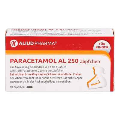 Paracetamol AL 250  bei juvalis.de bestellen