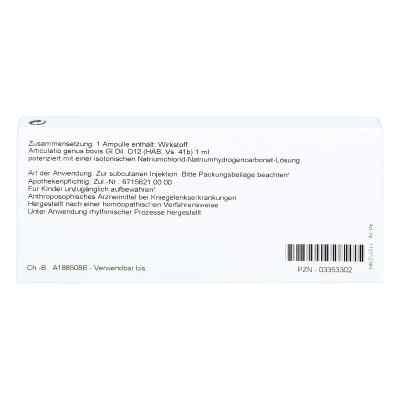 Articulatio Genus Gl D12 Ampullen  bei juvalis.de bestellen