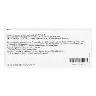 Reticuloendotheliales Sys. Gl D30 Ampullen  bei juvalis.de bestellen