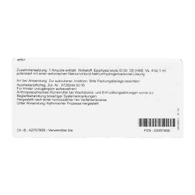 Epiphysis Gl D5 Ampullen  bei juvalis.de bestellen