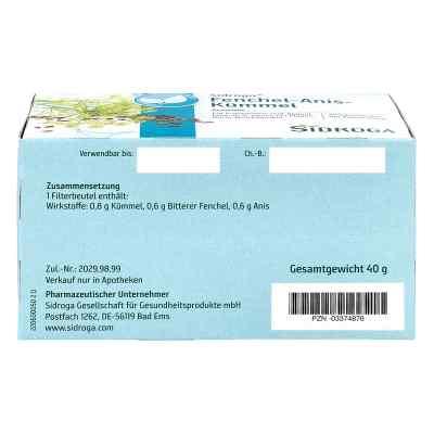 Sidroga Fenchel Anis Kümmel Tee Filterbeutel  bei juvalis.de bestellen