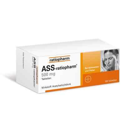 ASS-ratiopharm 500mg  bei juvalis.de bestellen