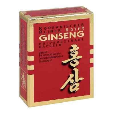 Roter Ginseng Extrakt Kapseln  bei juvalis.de bestellen