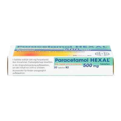 Paracetamol 500mg HEXAL bei Fieber und Schmerzen  bei juvalis.de bestellen
