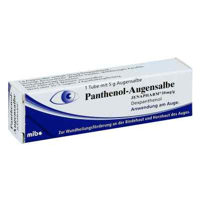 Panthenol Augensalbe Jenapharm  bei juvalis.de bestellen