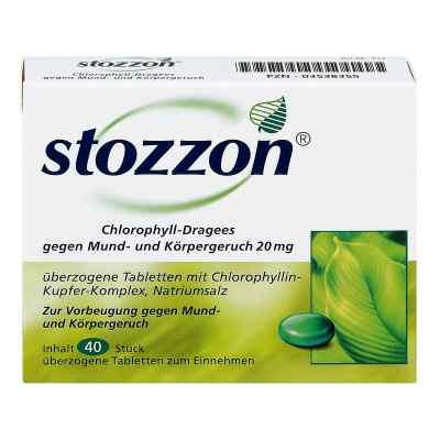 Stozzon Chlorophyll-Dragees gegen Mund- und Körpergeruch  bei juvalis.de bestellen