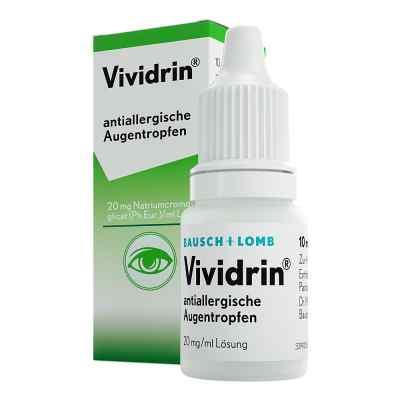 Vividrin antiallergische Augentropfen  bei juvalis.de bestellen