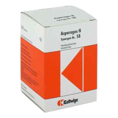 Synergon 58 Asparagus N Tabletten  bei juvalis.de bestellen