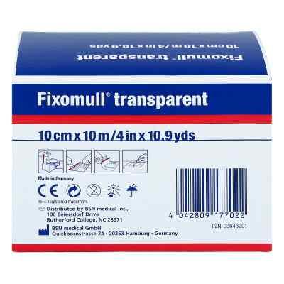 Fixomull transparent 10mx10cm  bei juvalis.de bestellen