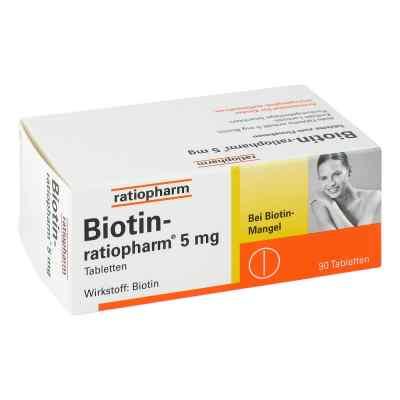 Biotin Ratiopharm 5 mg Tabletten  bei juvalis.de bestellen
