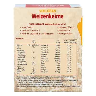 Weizenkeime Vollgran Grandel Kerne  bei juvalis.de bestellen