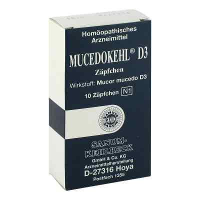 Mucedokehl D3 Suppositorien  bei juvalis.de bestellen
