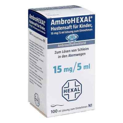 AmbroHEXAL Hustensaft für Kinder 15mg/5ml  bei juvalis.de bestellen