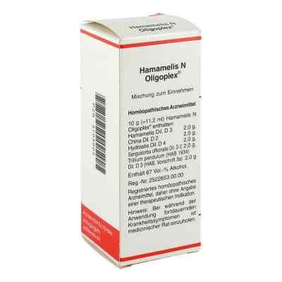 Hamamelis N Oligoplex Liquidum  bei juvalis.de bestellen