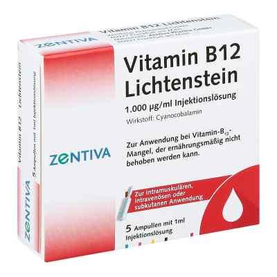Vitamin B12 1000 [my]g Lichtenstein Ampullen  bei juvalis.de bestellen