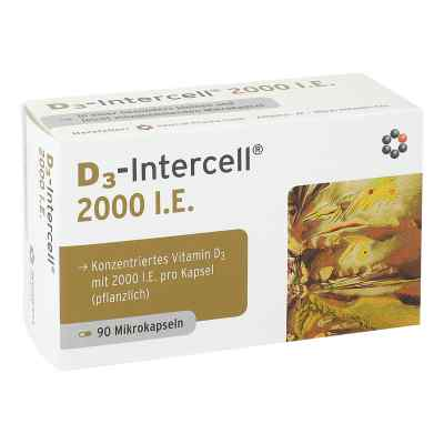 D3-intercell 2000 I.e. Kapseln  bei juvalis.de bestellen