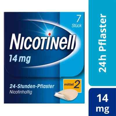 Nicotinell 14 mg (ehemals 35 mg) 24-Stunden-Pflaster  bei juvalis.de bestellen