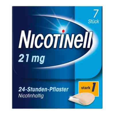 Nicotinell 21 mg (ehemals 52,5 mg) 24-Stunden-Pflaster  bei juvalis.de bestellen