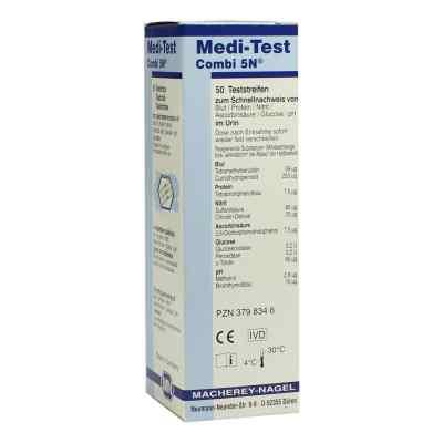 Medi Test Combi 5n Teststreifen  bei juvalis.de bestellen