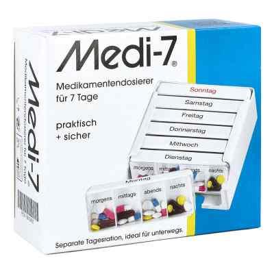 Medi 7 Medikamenten Dosierer für 7 Tage  bei juvalis.de bestellen