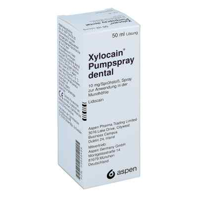Xylocain Pumpspray Dental  bei juvalis.de bestellen