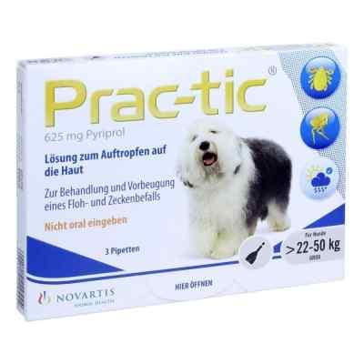 Prac tic für grosse Hunde 22-50 kg Einzeldosispipetten   bei juvalis.de bestellen
