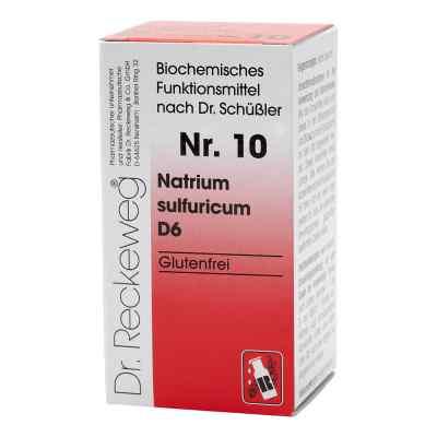 Biochemie 10 Natrium sulfuricum D6 Tabletten  bei juvalis.de bestellen