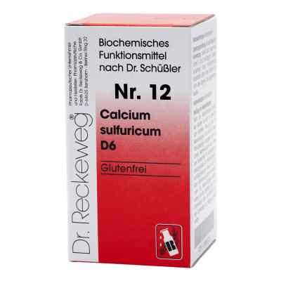 Biochemie 12 Calcium sulfuricum D6 Tabletten  bei juvalis.de bestellen