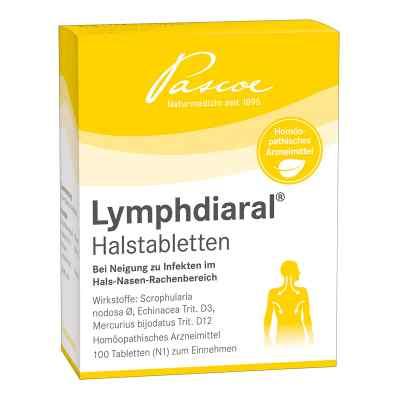Lymphdiaral Halstabletten  bei juvalis.de bestellen