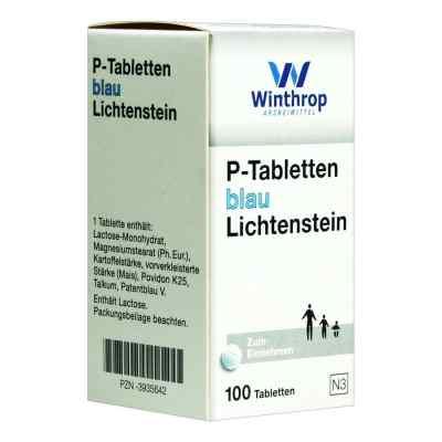 P Tabletten blau 8 mm Teilk.  bei juvalis.de bestellen