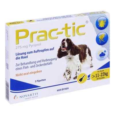 Prac tic für mittlere Hunde 11-22 kg Einzeldosispipetten  bei juvalis.de bestellen
