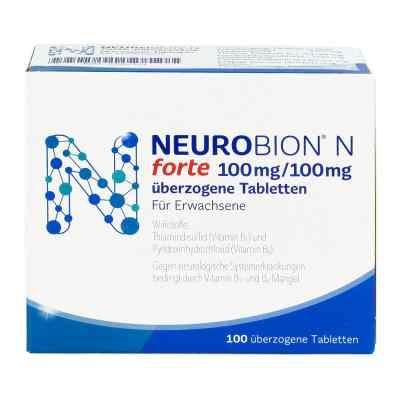 Neurobion N forte überzogene Tabletten  bei juvalis.de bestellen